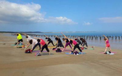 Stage de yoga à l'Île d'Oléron en Juin 2019